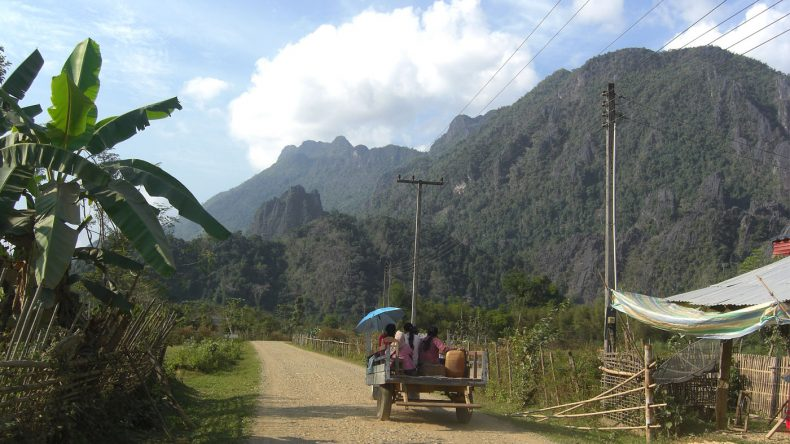 The Big Loop - Mit dem Roller durch die Berge rund um Vang Vieng