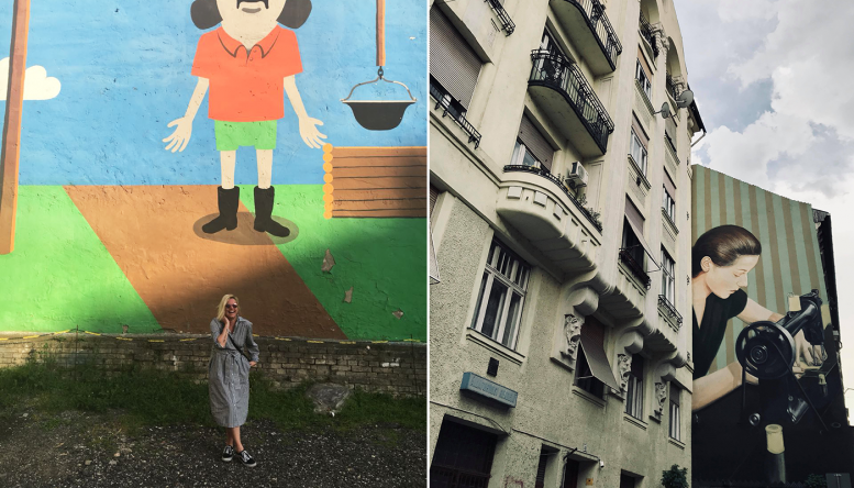 Mural in Budapest