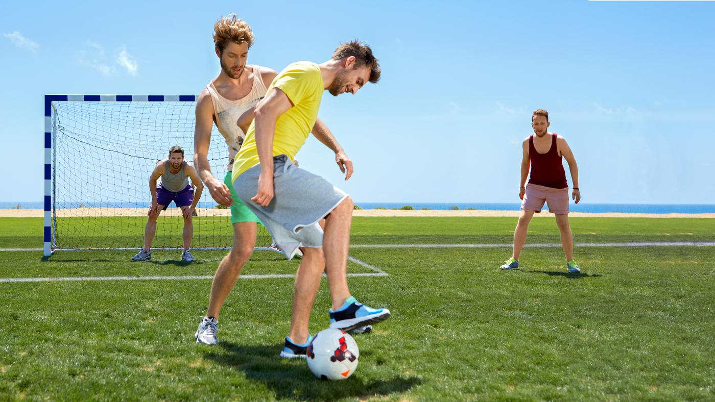 Fußballhighlights erwarten euch auch in den TUI MAGIC LIFE Clubs