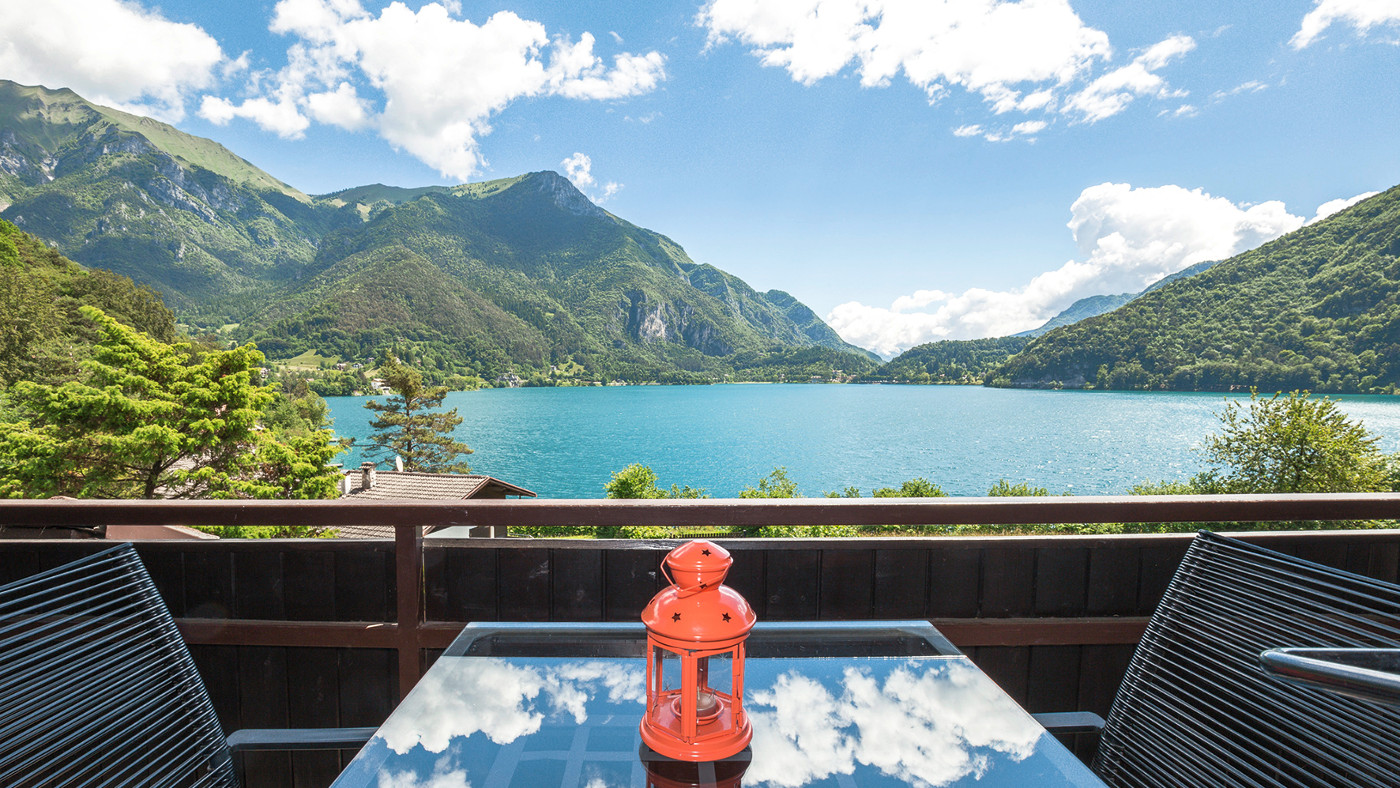 Ferienwohnung am Ledrosee in Italien