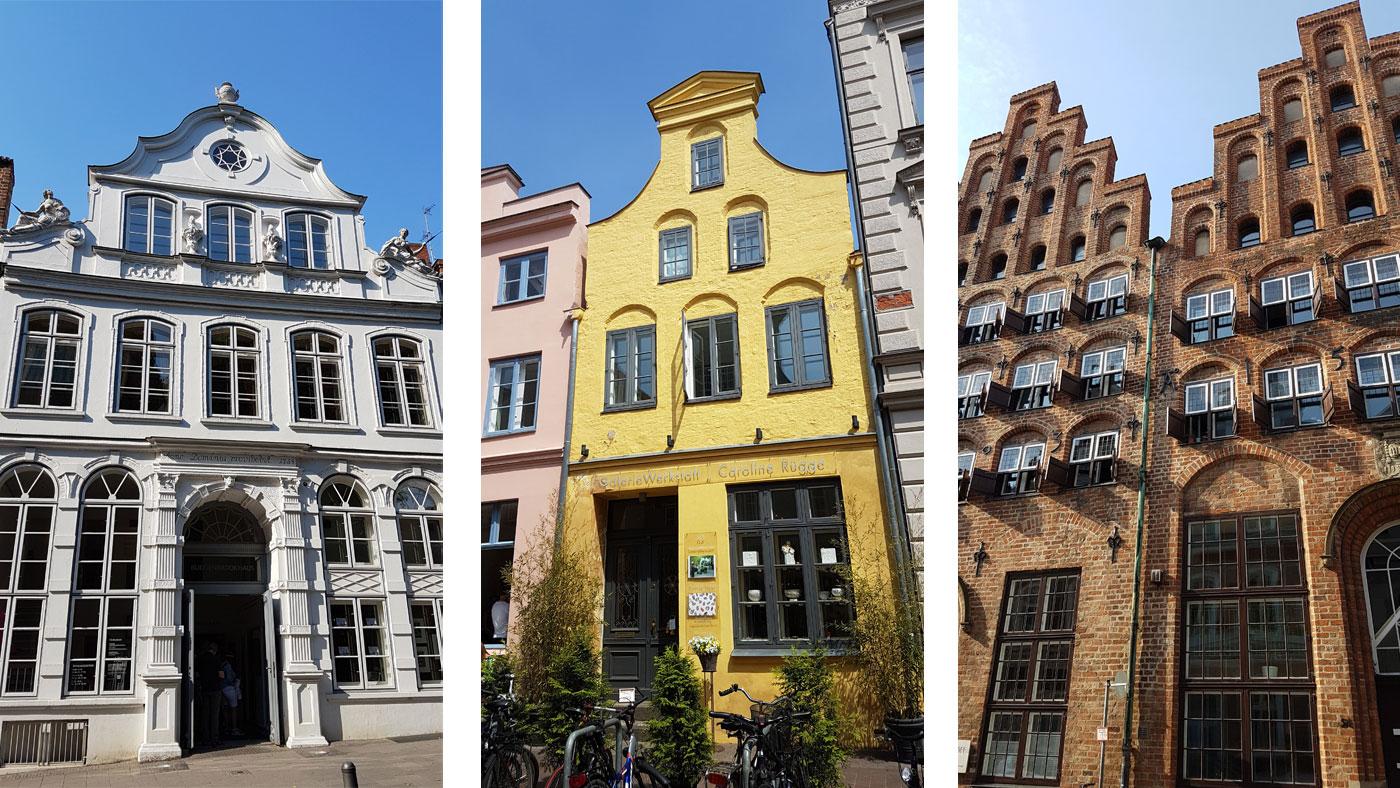 Historische Lübecker Häuserfassaden