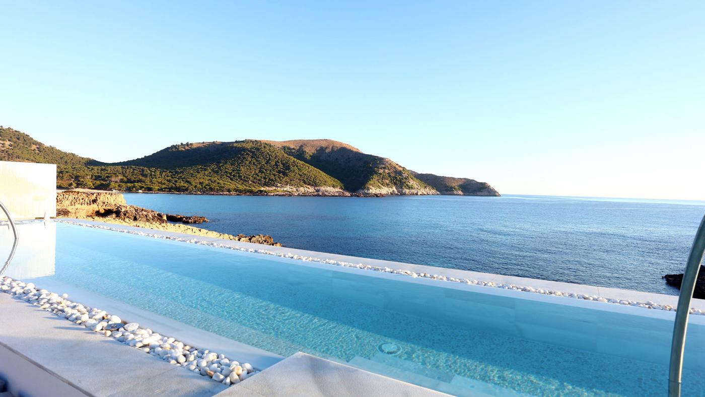 Sagenhaft! Der Ausblick vom Infinitypool des Mar Azul PurEstil Hotel & Spa