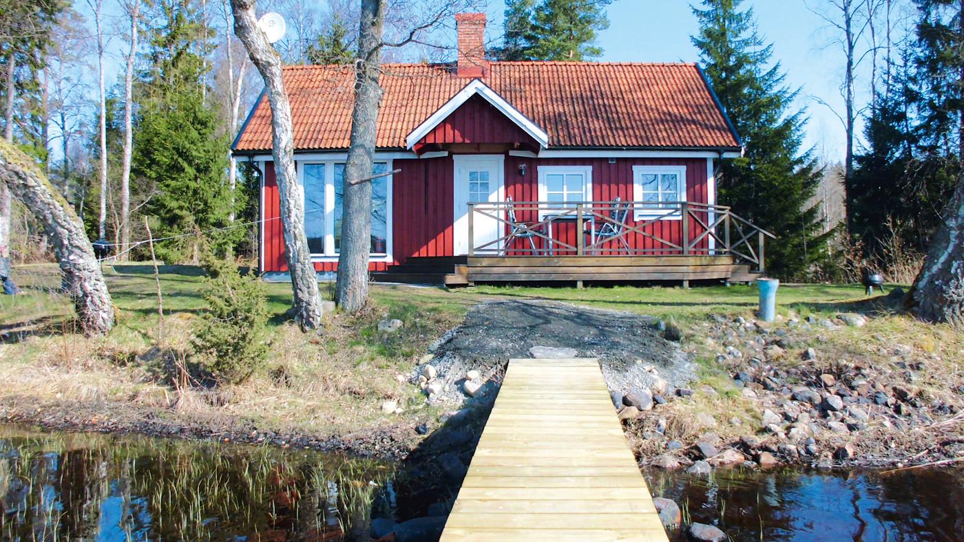 Ferienhaus in Schweden am See Kallsjön