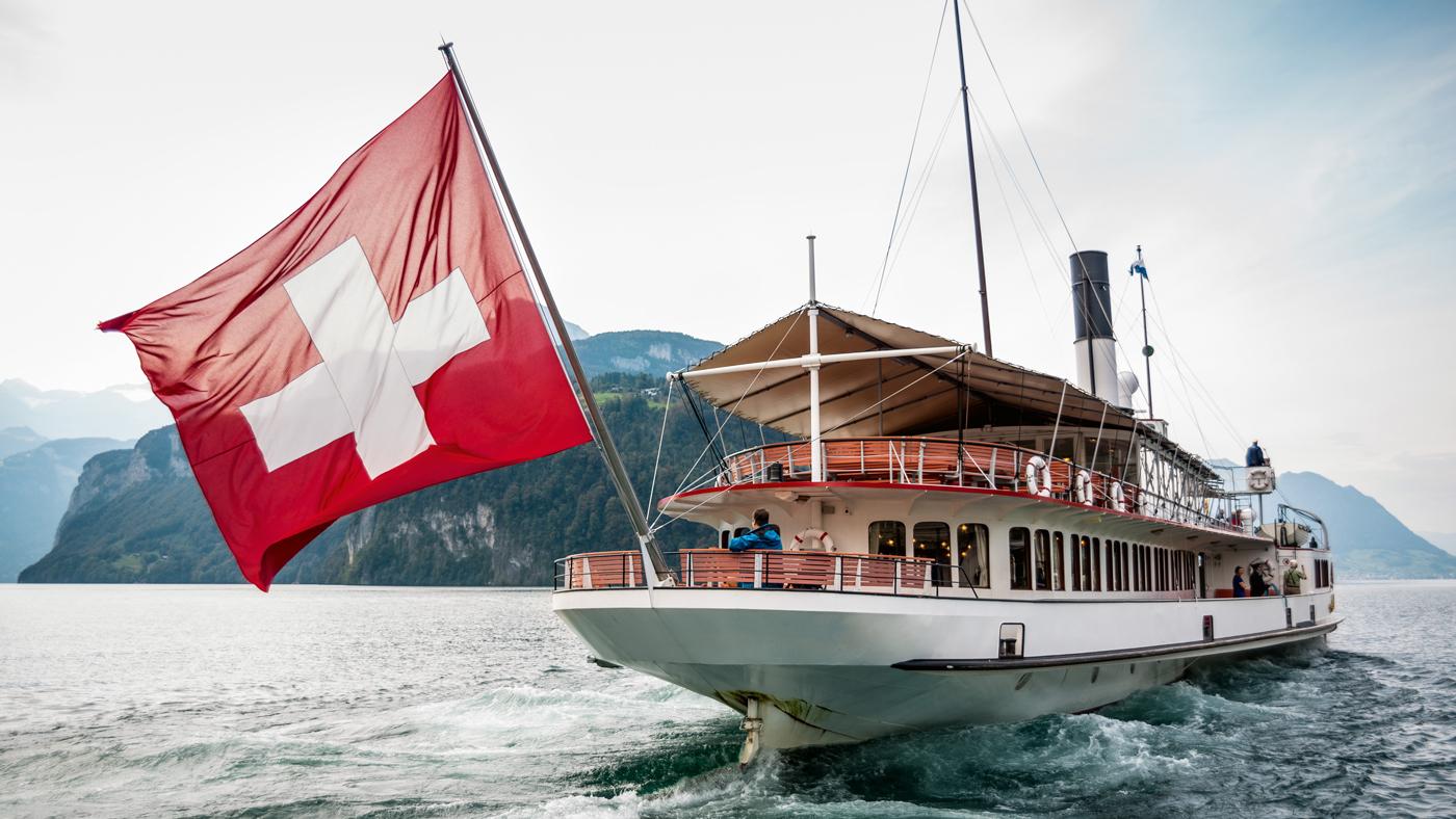 Mit dem Dampfschiff auf dem Vierwälderstättersee (© Swiss Image)