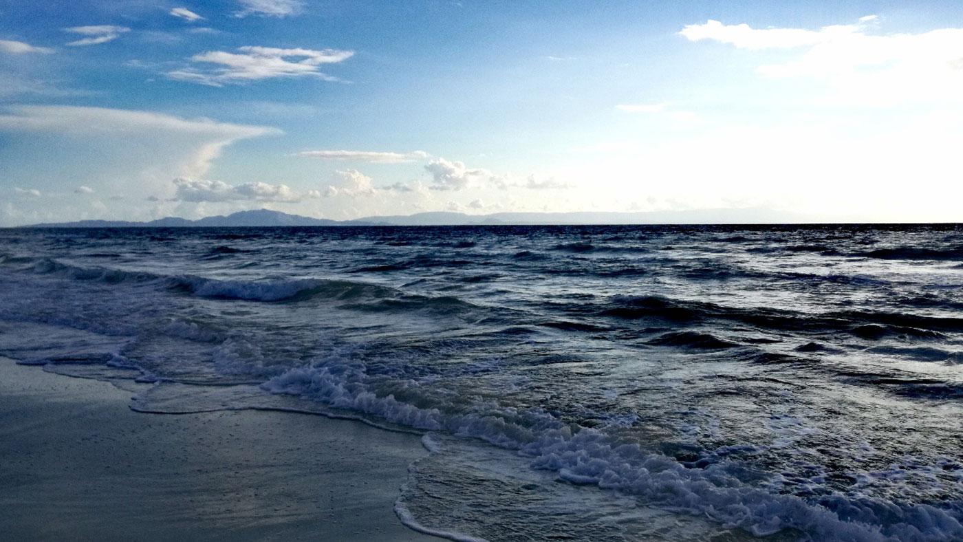 Feiner Sand und ganz lange ganz flach – Kyllini Beach