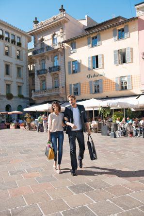 die Promenade von Lugano (©Swiss Image)