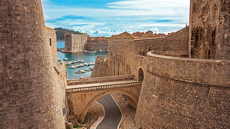 Die Altstadt in Dubrovnik war Drehort für die Serie