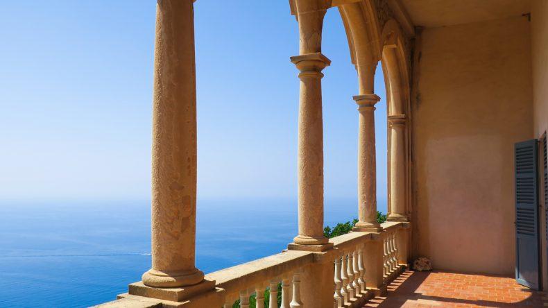 Ausblick Richtung Norden vom Balkon des Salon Ultramar