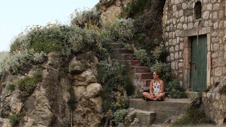 Zwischen all der Action freut sich Carina auch mal über eine ruhige Minute, hier in Dubrovnik