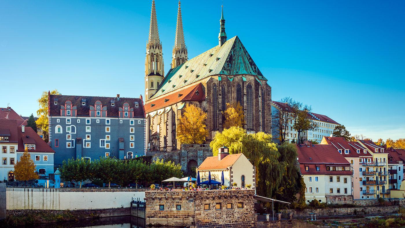Halb Hollywood war schon in der beschaulichen Stadt Görlitz, Sachsen