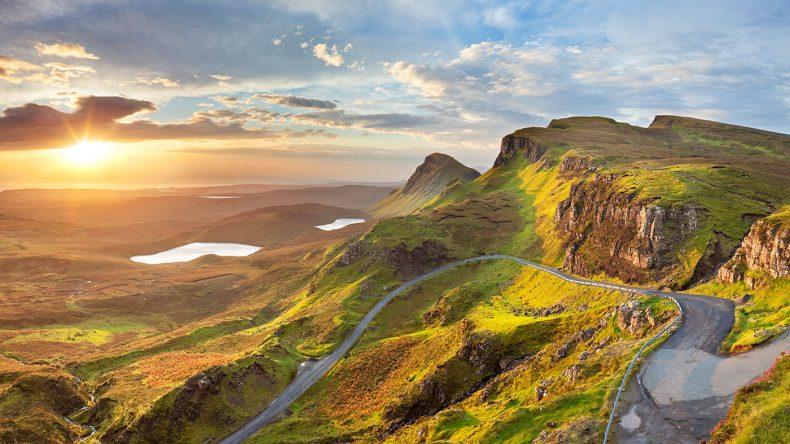 Die schottischen Highlands galten als Fokus der Serie