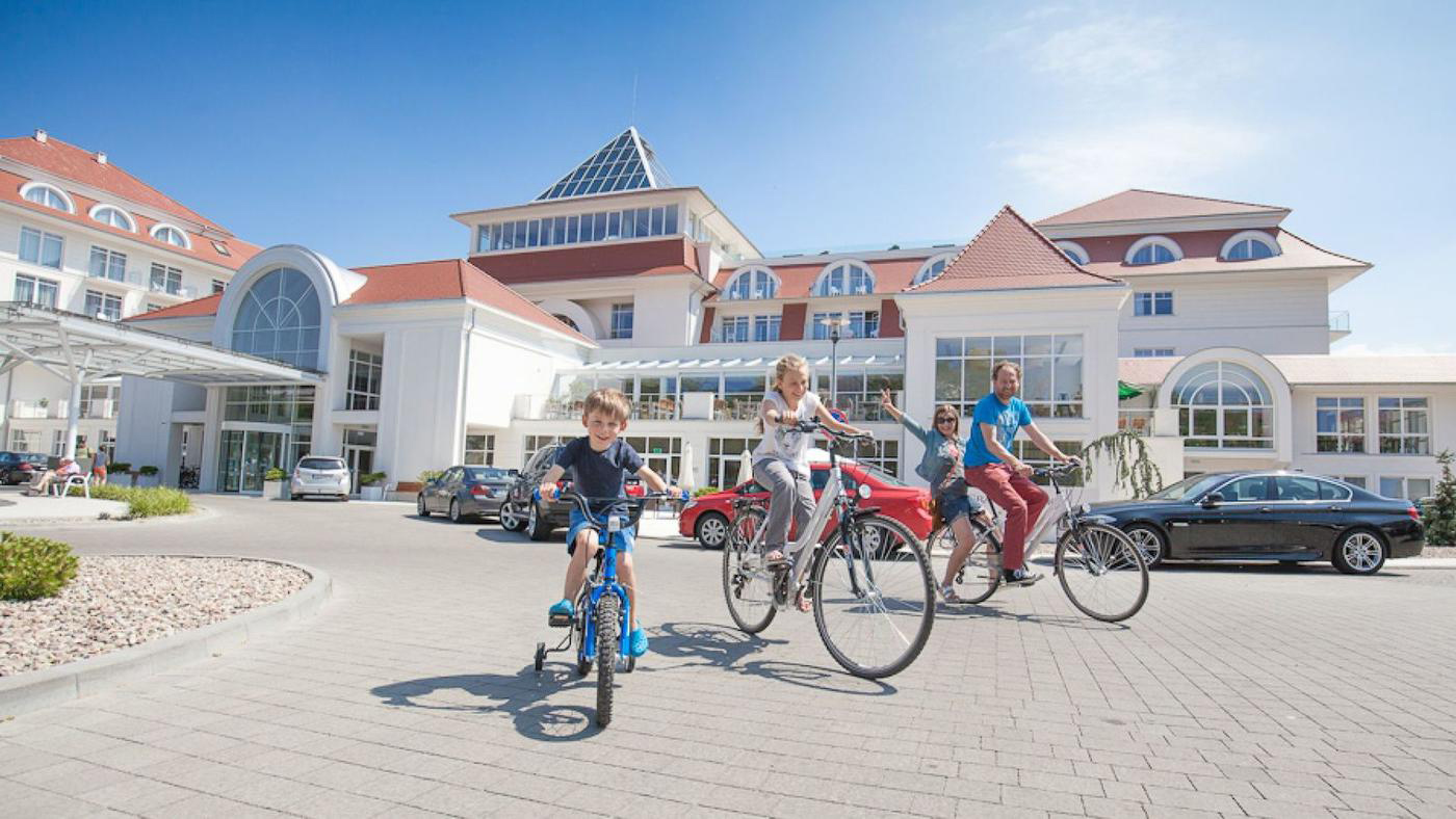 Im Kurort Ustka liegt das Familienhotel Grand Lubicz