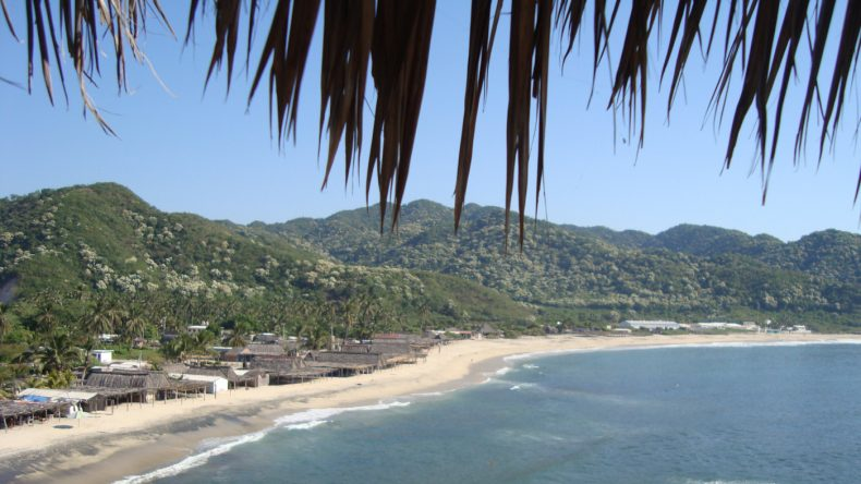 Der wenig besuchte Strand Maruata ist eine Oase der Ruhe.