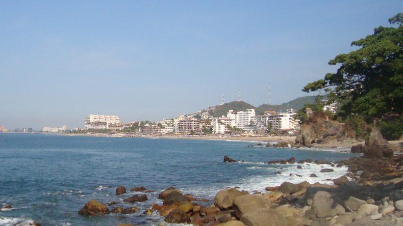 Der Strand von Puerto Vallarta ist nicht nur bei US-amerikanischen Touristen sehr beliebt.