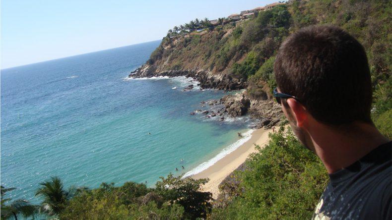 An der versteckten Bucht von Carrizalillo lässt es sich auch entspannt baden.