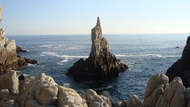 Die bekannteste Felsformation ist der Dedo del Dios (= Gottesfinger).