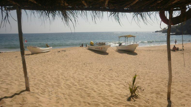 Der goldene Strand in Mazunte ist nicht nur bei Hippies sehr beliebt.