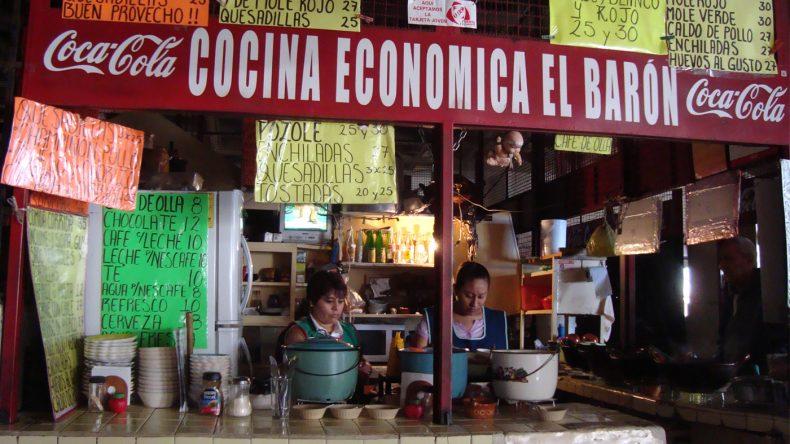 Von morgens bis abends probiere ich mich hier durch die gute und günstige Küche Mexikos.