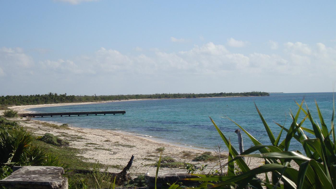 Der Playa Palancar liegt an der ruhigen Westküste von Cozumel.