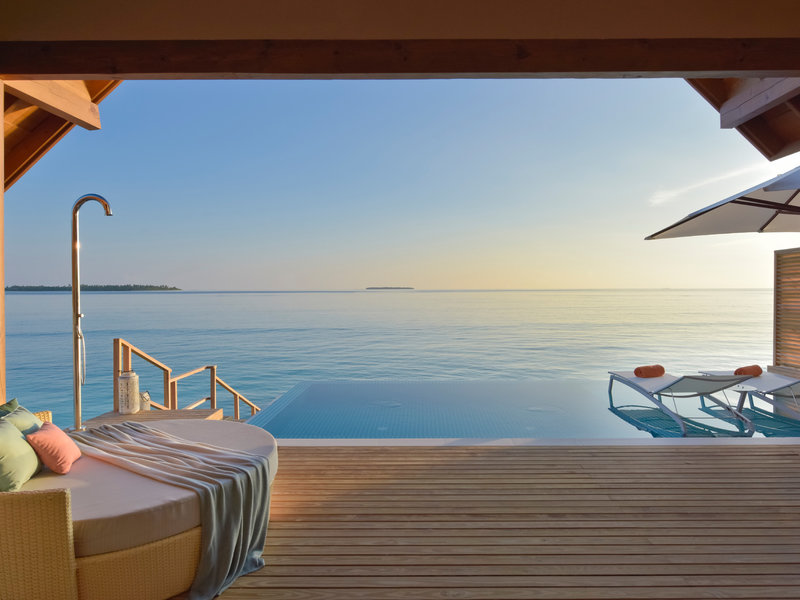 Ein Traum! Das Faarufushi Maldives auf dem Raa Atoll.
