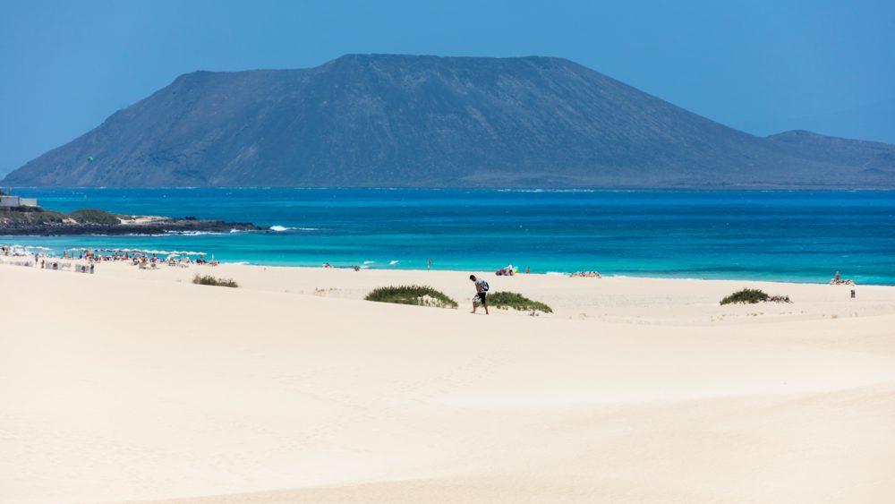 Der Dünenstrand von Corralejo