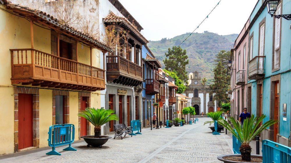 Gran Canarias wohl schönster Ort ist das hübsche Dorf Teror