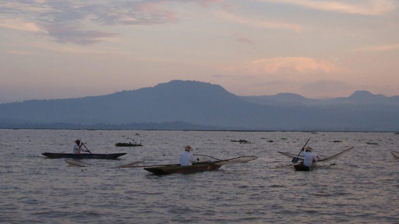 Auf dem Pátzcuaro-See kann man die Fischer beim Charales-Fang beobachten.