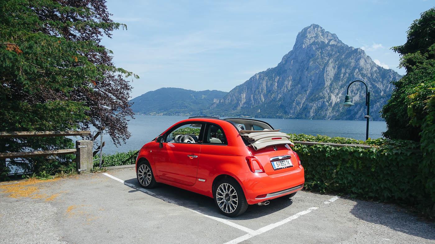 Mein kleiner roter Flitzer von TUICars für die kurvigen Straßen in Oberösterreich