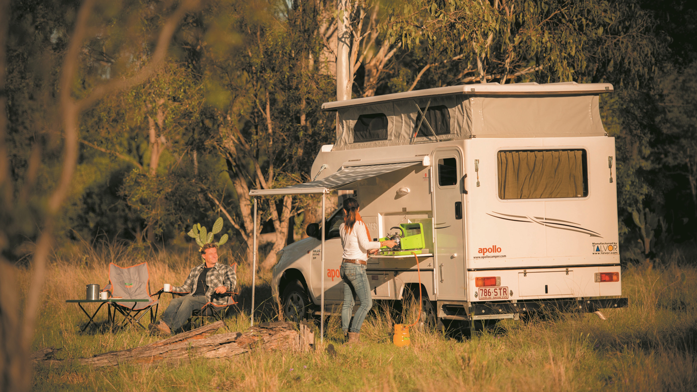 Mit dem Allrad Camper macht ihr in der Wildnis eine gute Figur