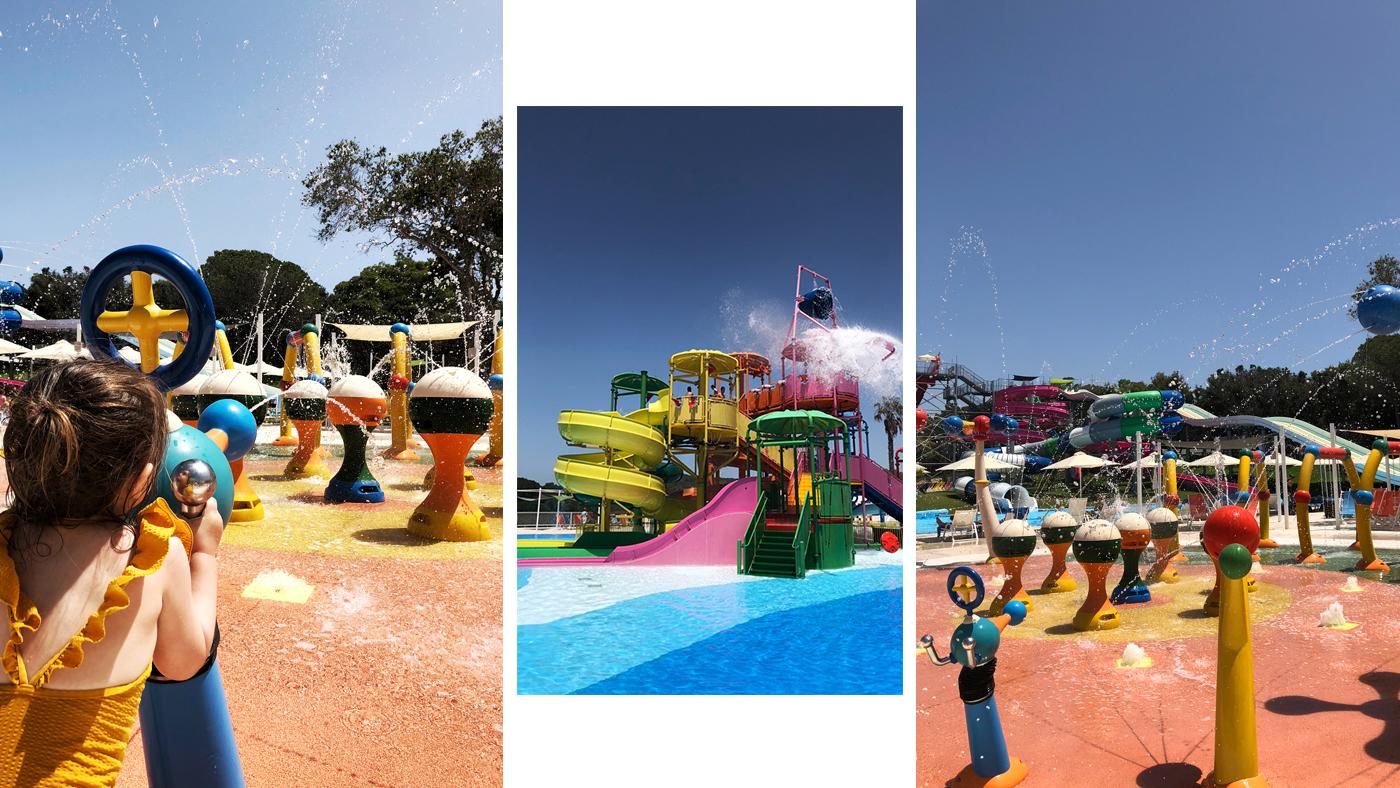 Badespaß im Aquapark des Grecotel Olympia Riviera
