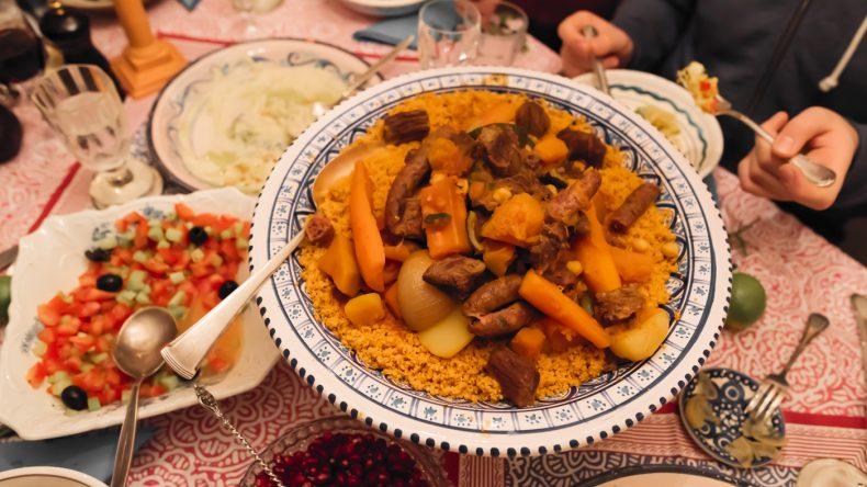 3. Auch der Couscous muss mindestens einmal auf der Speisekarte stehen!