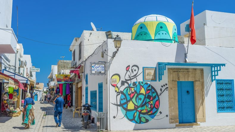 9.Die Graffitis in Djerba Hood