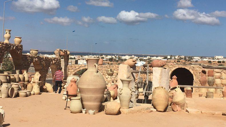 Viele Keramikkunstwerke sind hier zu finden