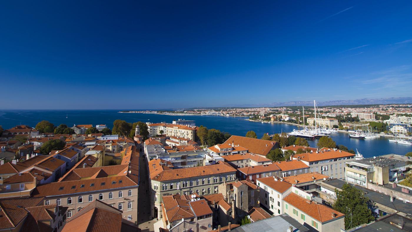 Unser Ziel: Zadar an der dalmatinischen Küste