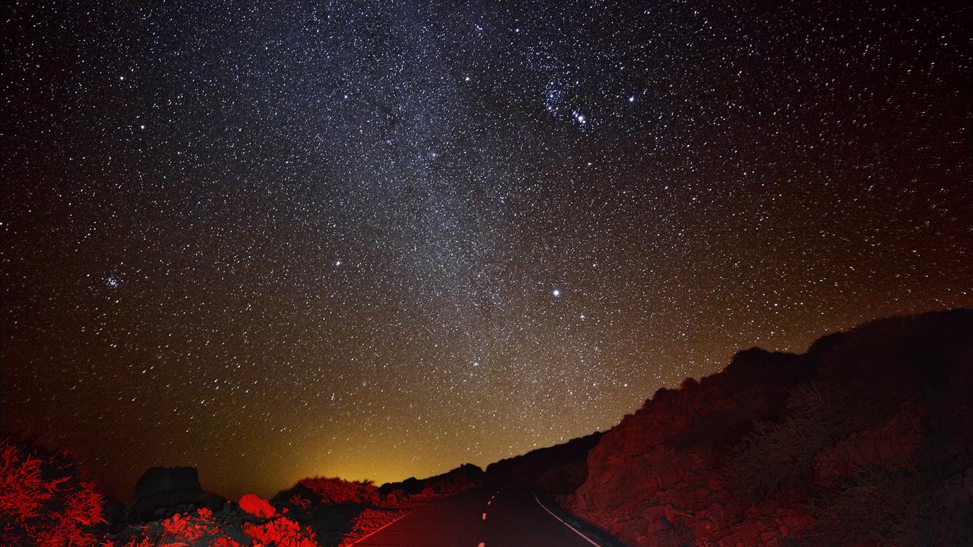 Sterne gucken auf La Palma. Es gibt kaum einen Ort auf der Welt, wo das besser geht
