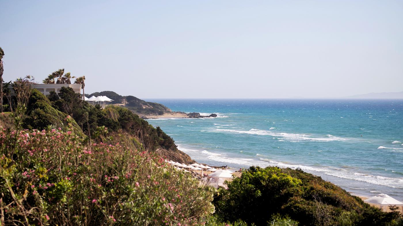 Schöne Landschaften, schöner Strand - was will man mehr im Babymoon?