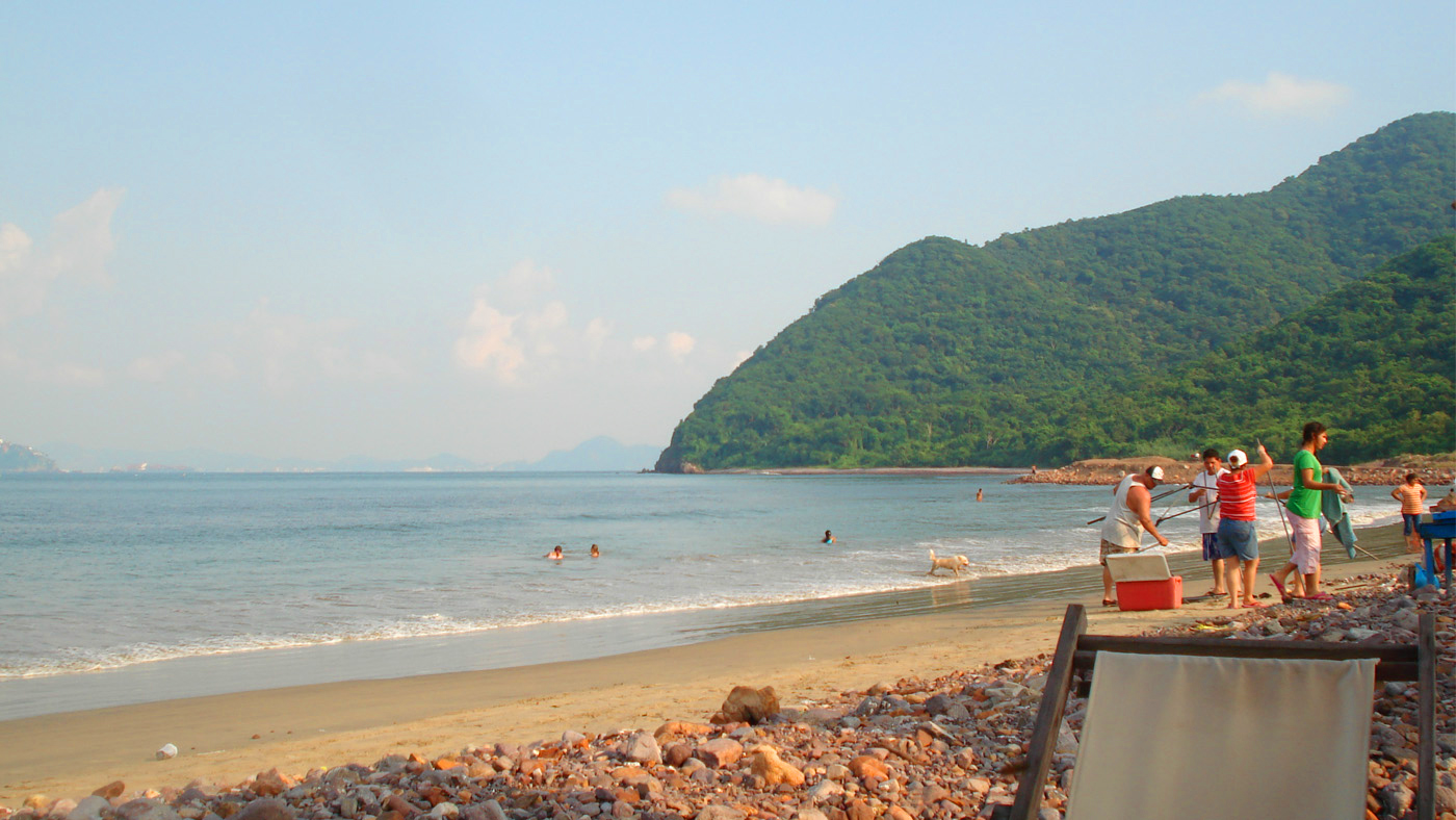 Von den vielen Stränden Manzanillos ist der Playa La Boquita der Schönste.