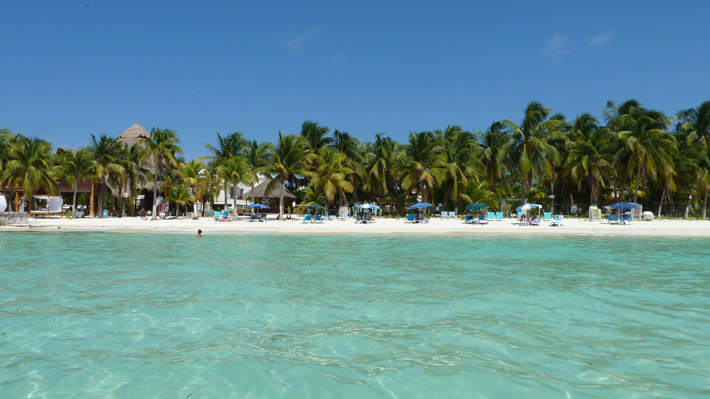Der Strand an der Nordspitze der Isla Mujeres kann sich wirklich sehen lassen.