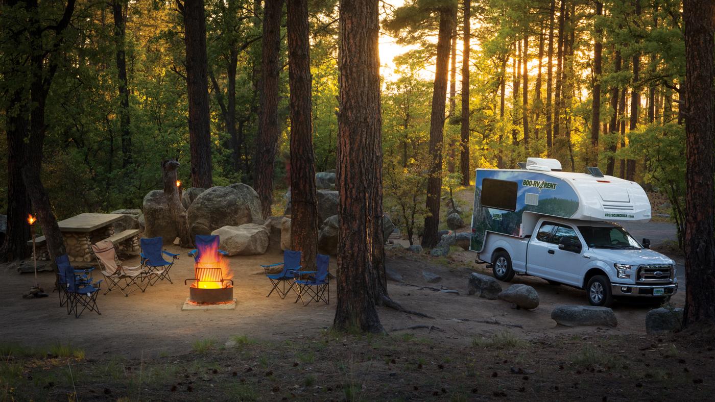 Mit dem Pick Up kommt ihr überall hin und könnt echte Abenteuer erleben!