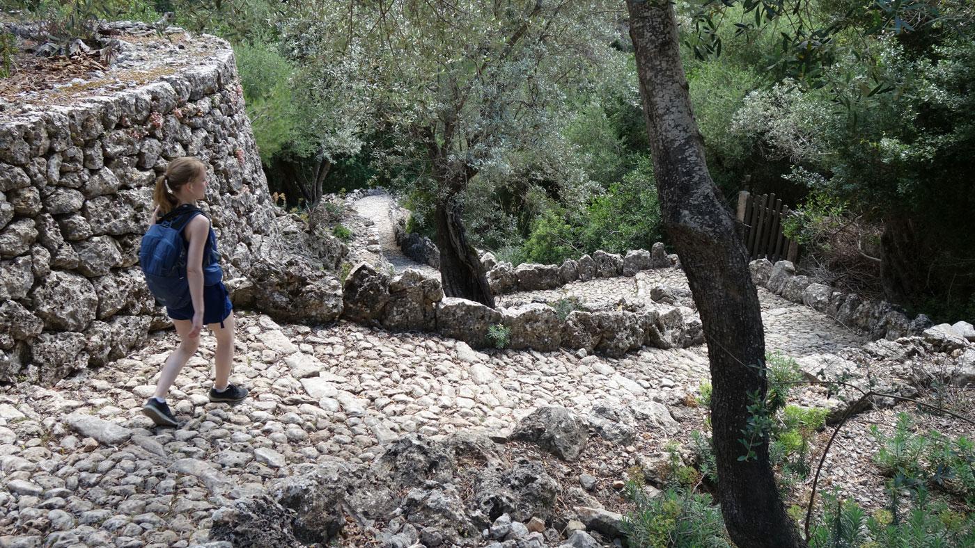 Pilgerweg Camí des Barranc