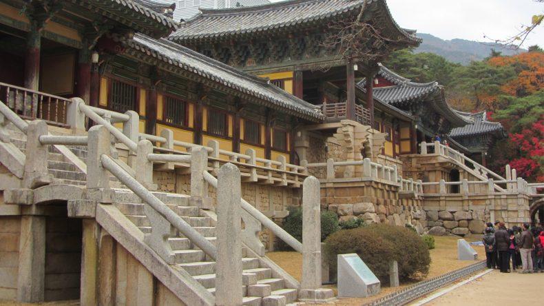 Der buddhistische Bulguksa-Tempel ist eines der großen Highlights Gyeongjus.