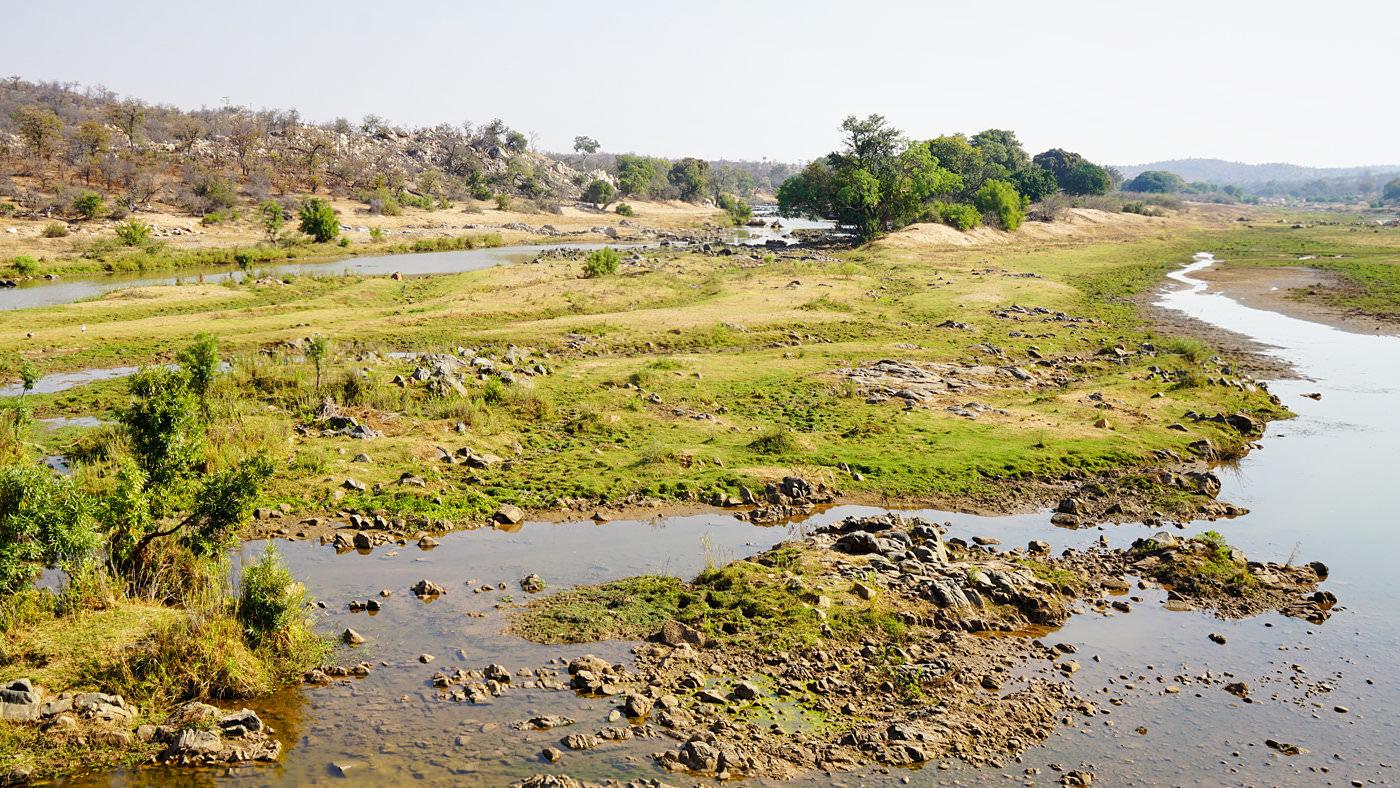Die Landschaft des Kruger Nationalpark