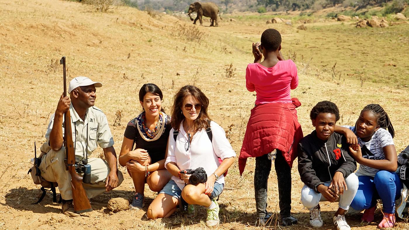 Eine Walking Safari ist schon ein besonderes Erlebnis