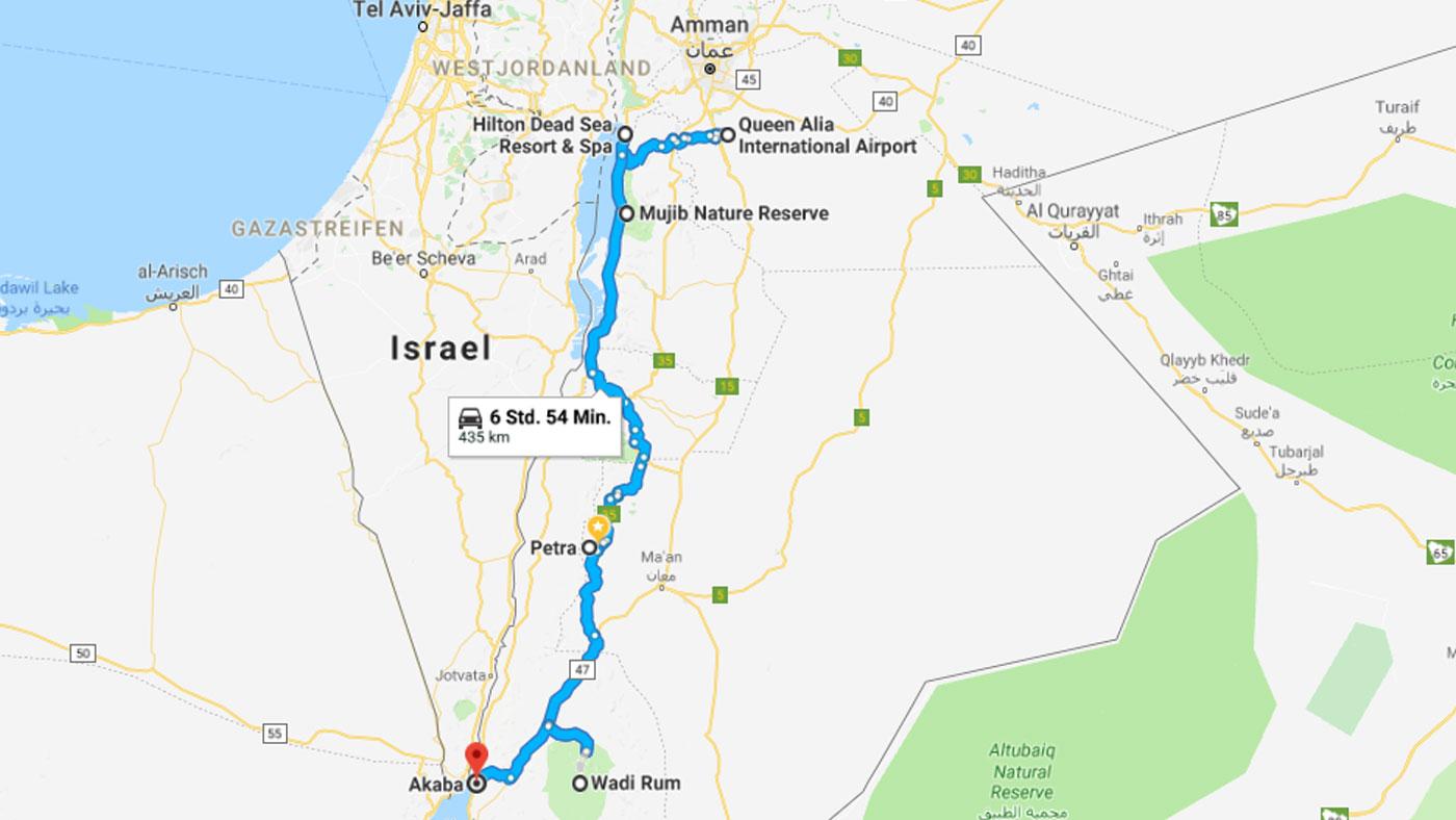 Jordanien in 8 Tagen