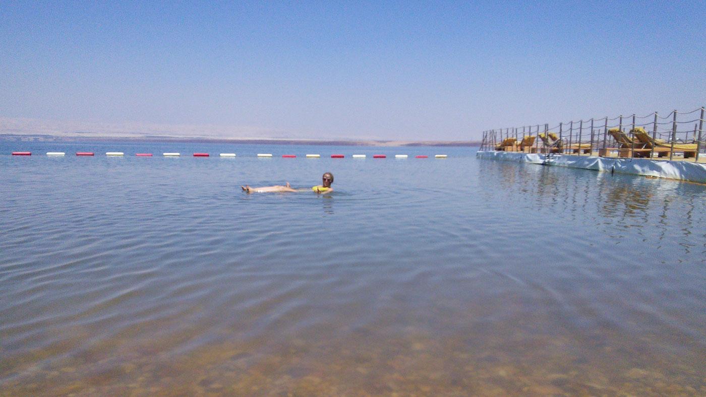 Totes Meer in Jordanien