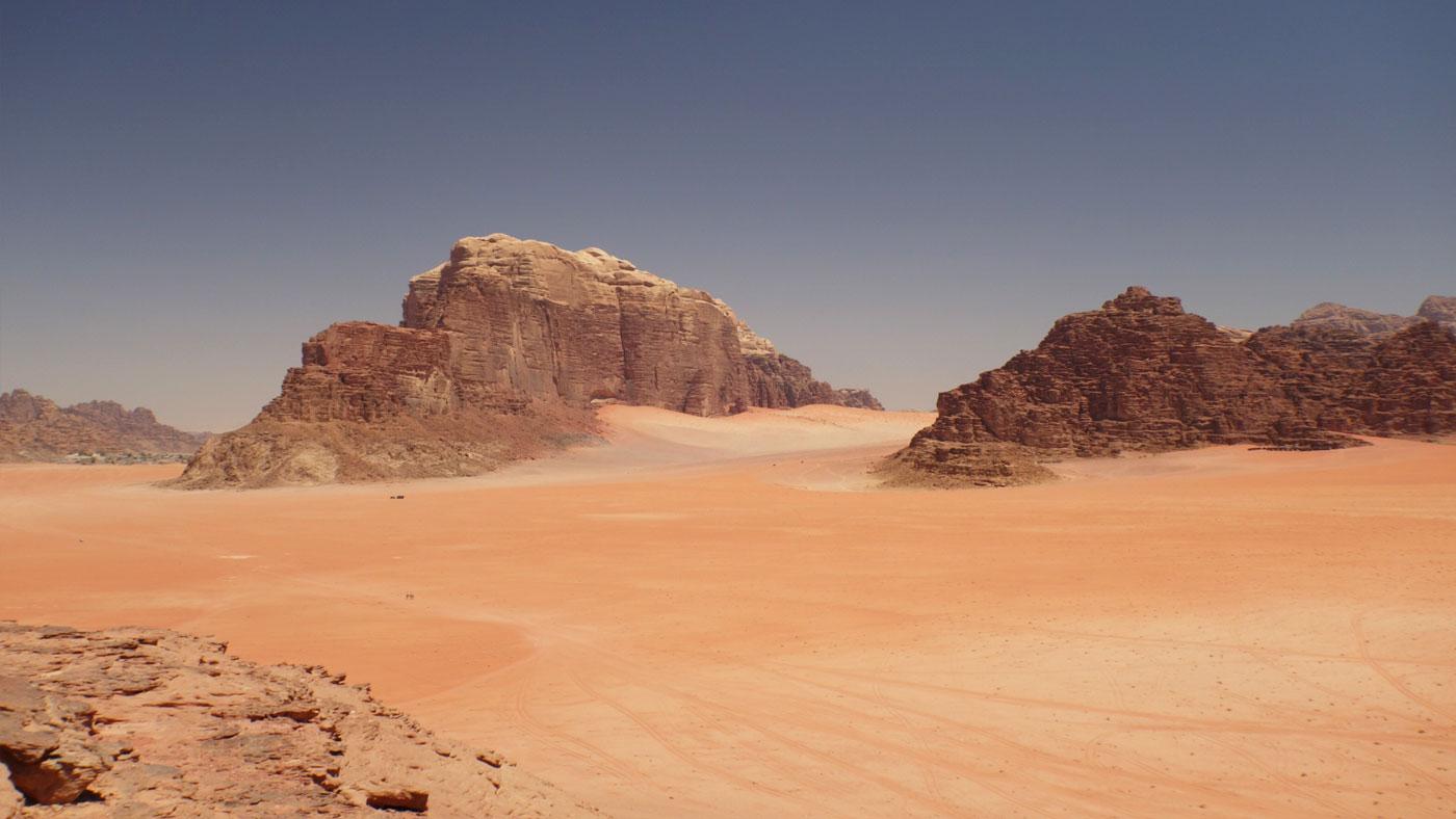 Aussicht vom Khazali Canyon