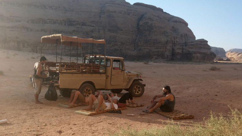Guten Morgen in der Wüste