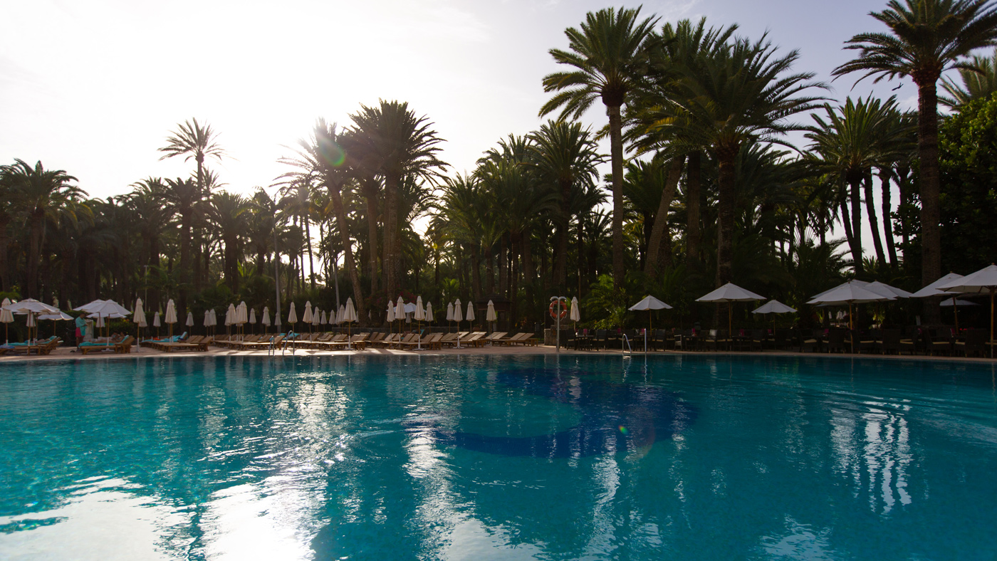 Im Seaside Palm Beach findet ihr mehrere Pools: Ein Solebad sowie ein separater Kinder- und Babypool für die Kleinsten.
