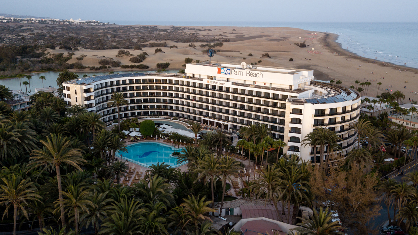 Seaside Palm Beach auf Gran Canaria