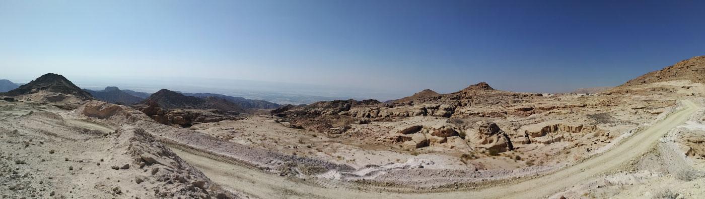 Jordaniens Wüstenlandschaft